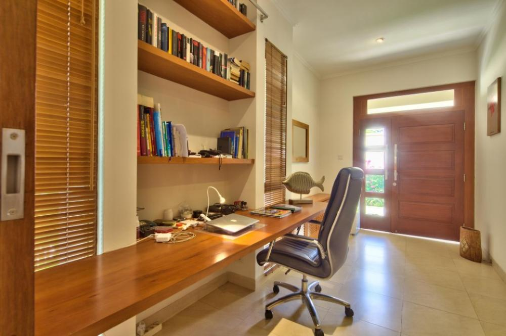 Inside Expat Home Office Area