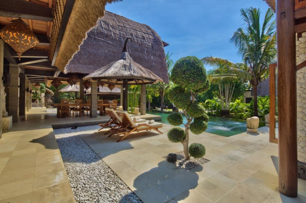 North Bali Villa Terrace View